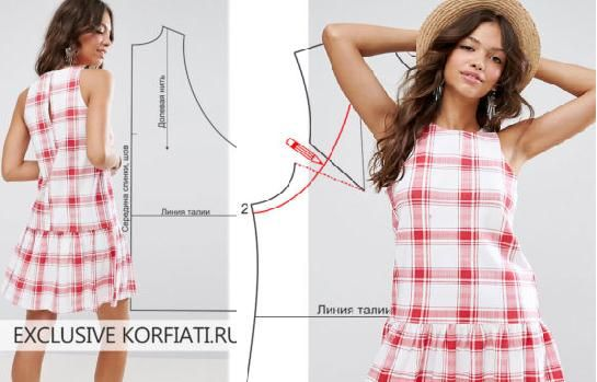 Patrones faciles de vestidos de mujer
