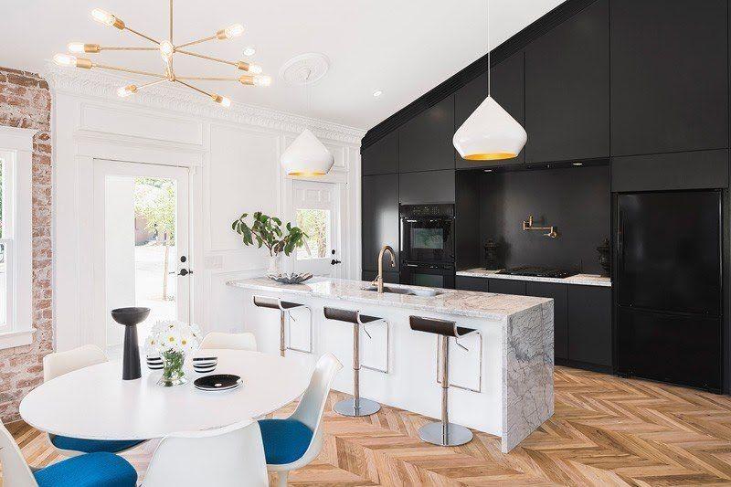 Marmol En Decoracion Marmol Cocinas Modernas Estilo Nordico Estilo