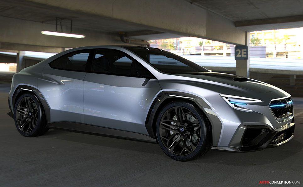 2017 Subaru Viziv Performance Concept Cars Tokyo Motor