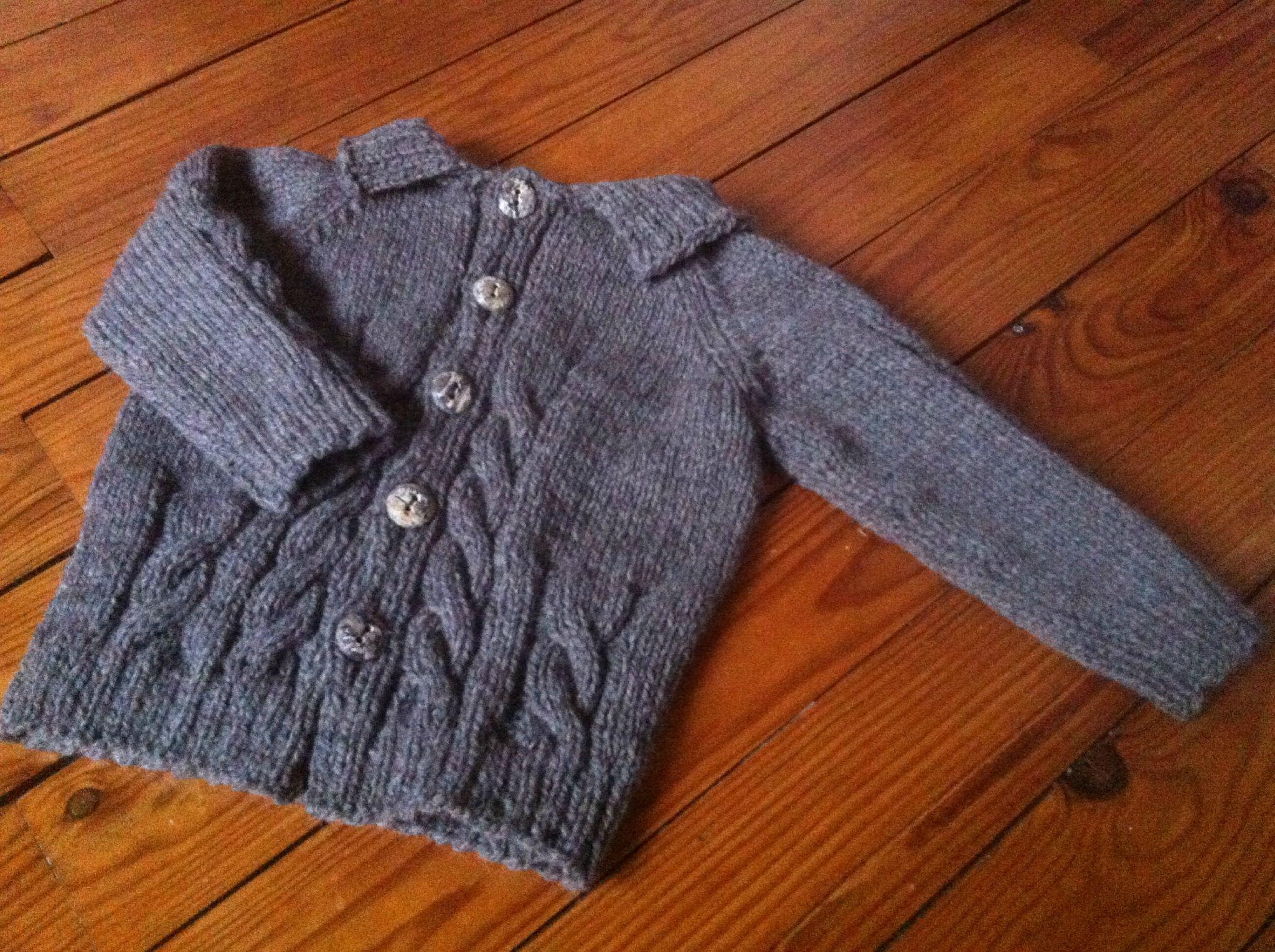 modele tricot veste garcon | Modele tricot, Gilet bebe tricot, Modele tricot enfant
