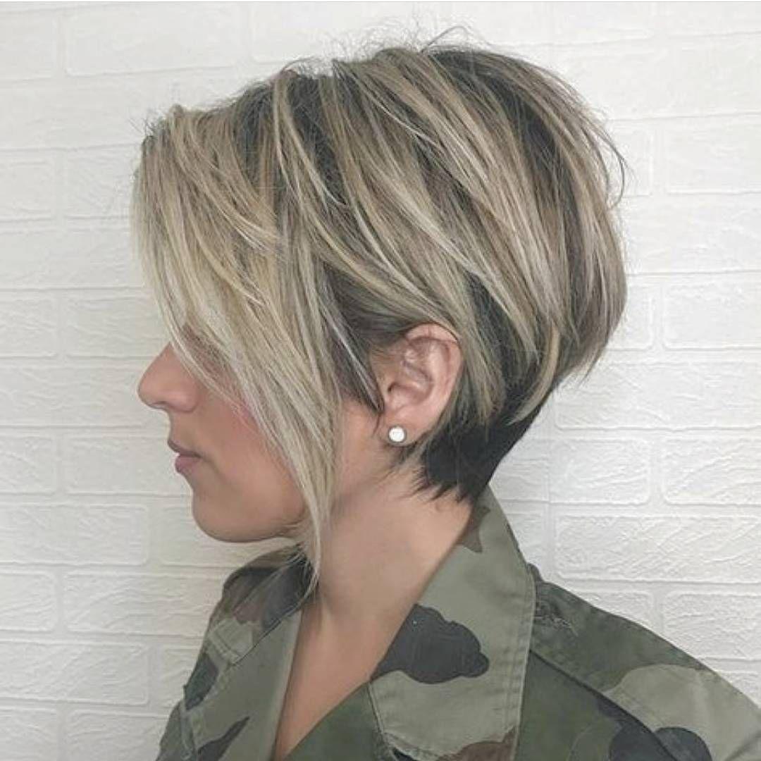 Diese Galerie von High-Fashion – Kurzhaarschnitt für dickes Haar ...