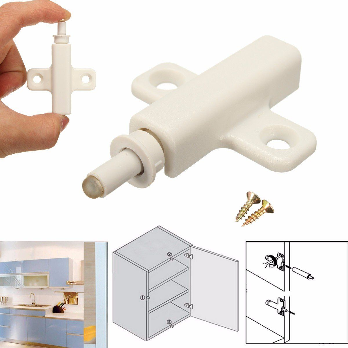 Cabinet Cupboard Kitchen Door Dampers Buffer Soft Closer Cushion Close Stops Kitchen Cabinet Doors Cabinet Doors Cabinet Cupboard