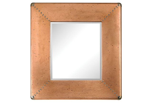 Calypso Wall Mirror Copper Mirror Wall Luxury Home
