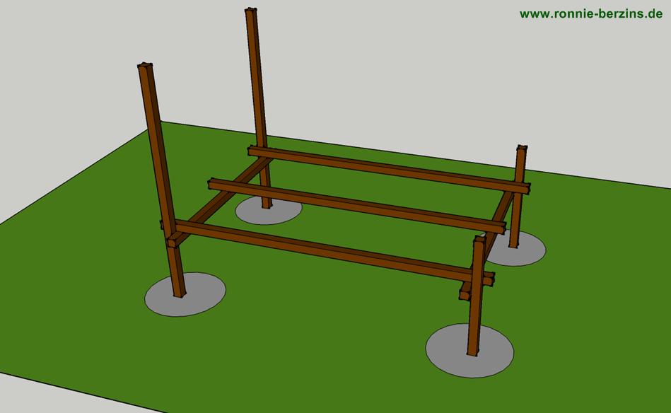 stelzenhaus spielhaus selber bauen einfache anleitung. Black Bedroom Furniture Sets. Home Design Ideas
