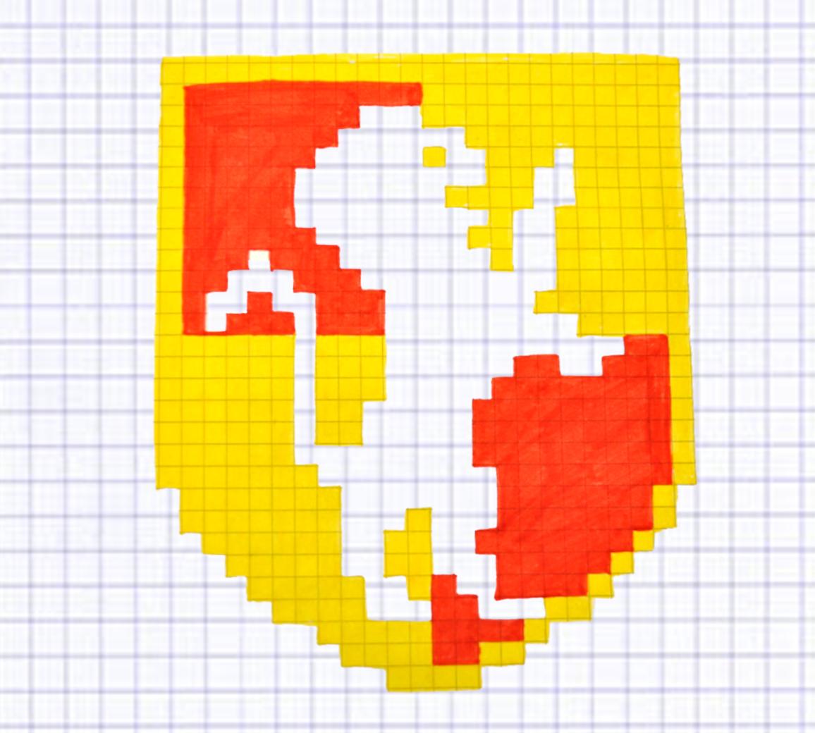 Pixel Art Gryffondor Super Beau En 2020 Pixel Art Pixel Art Harry Potter Coloriage Pixel Art