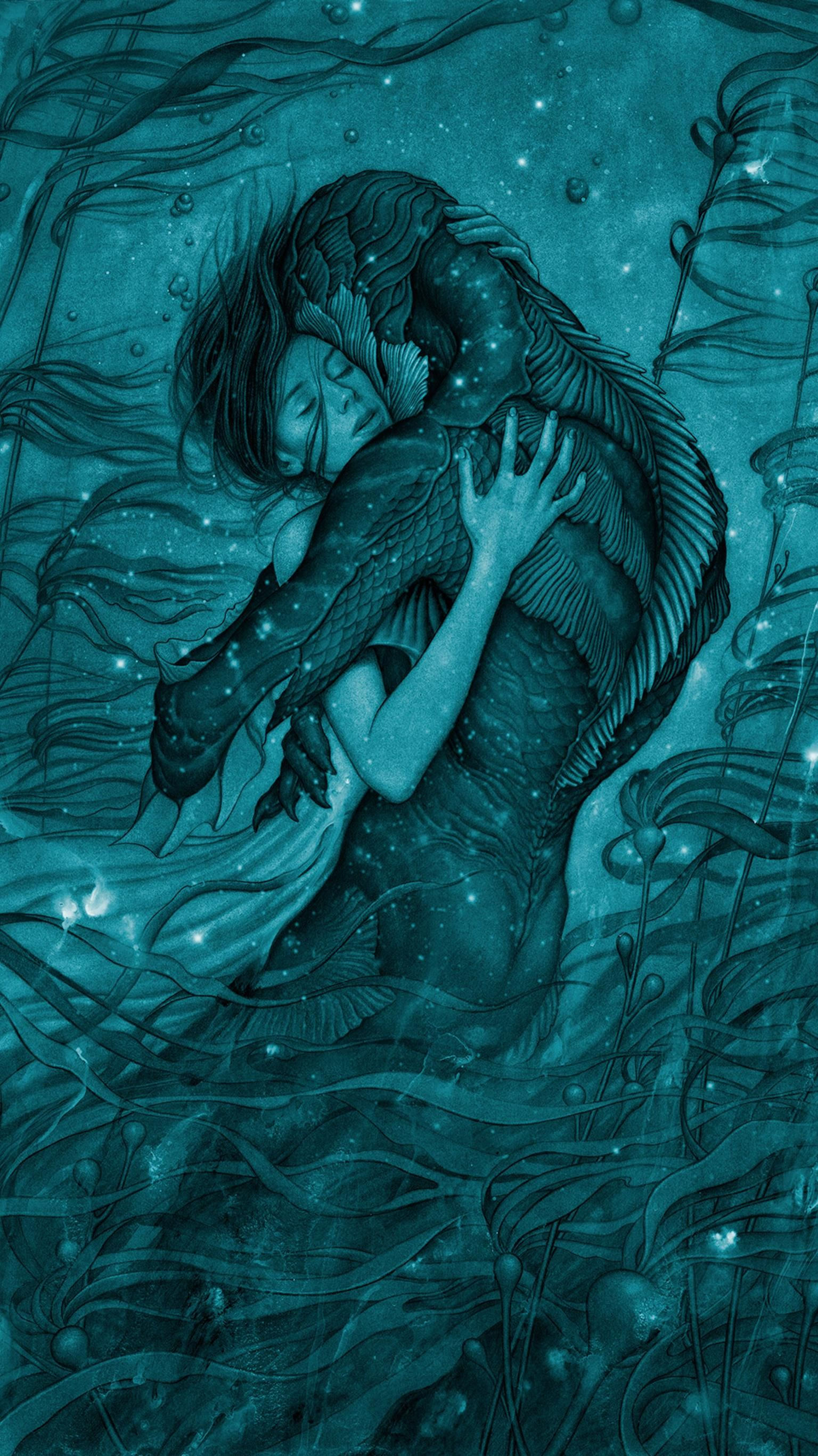 Moviemania Textless High Resolution Movie Wallpapers The Shape Of Water Water Art Water Poster