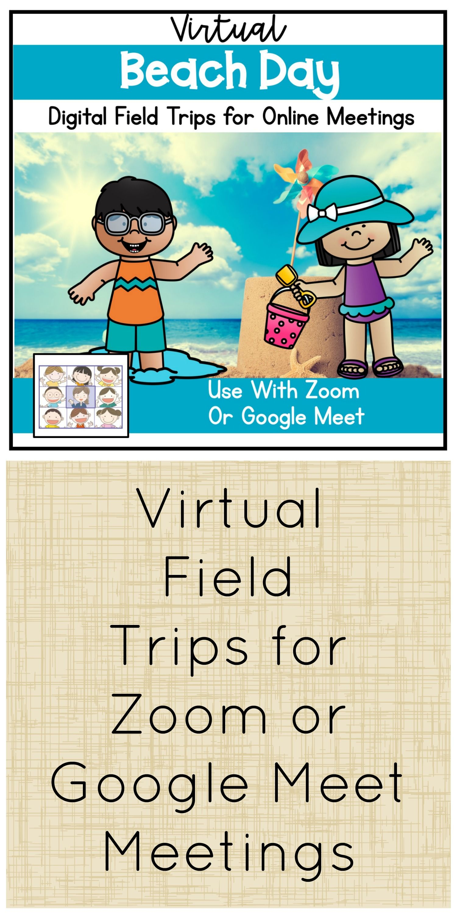 Virtual Beach Day for Distance Learning in 2020 Distance