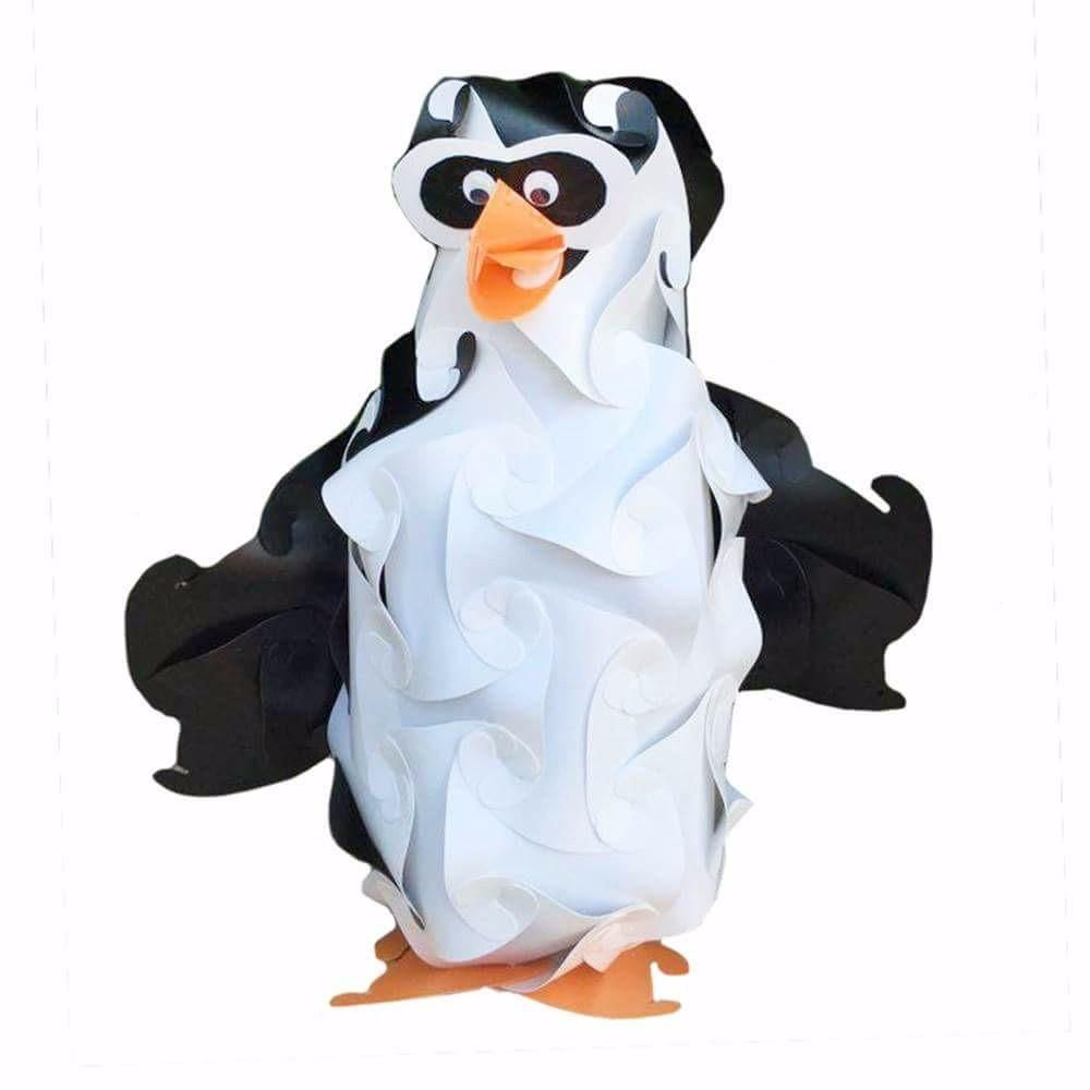 Cartoon Penguin Puzzle Light 3d Iq Lamps With Images