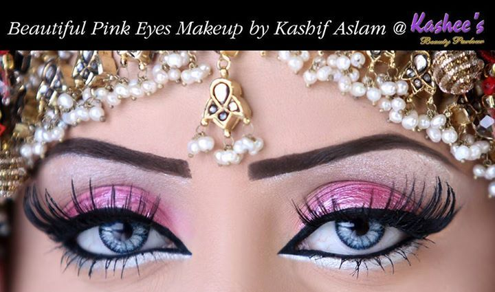 Beautiful Shimmery Pink Bridal Eye Akeup By Kashee S 3 Best