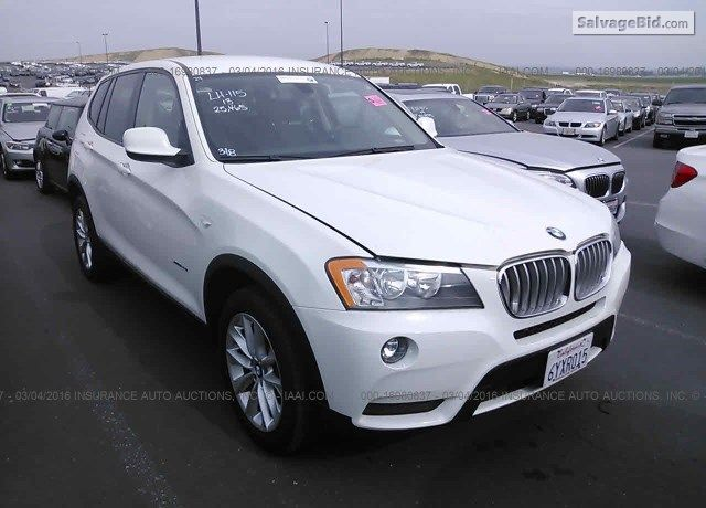 2013 Bmw X3 For Sale At Salvage Auto Auction Bmw X3 Bmw Suv