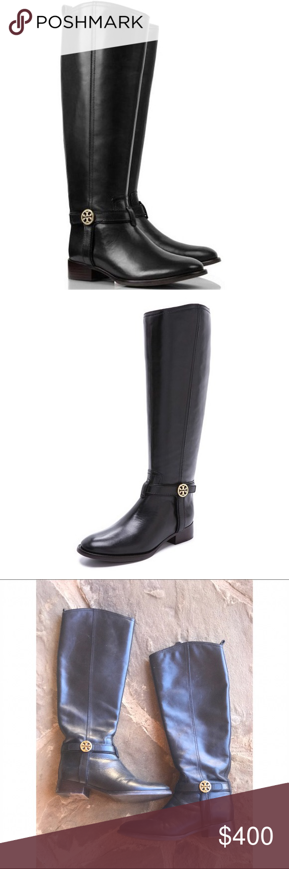 37516302d612 Tory Burch Black Riding Boots Gorgeous Tory Boots