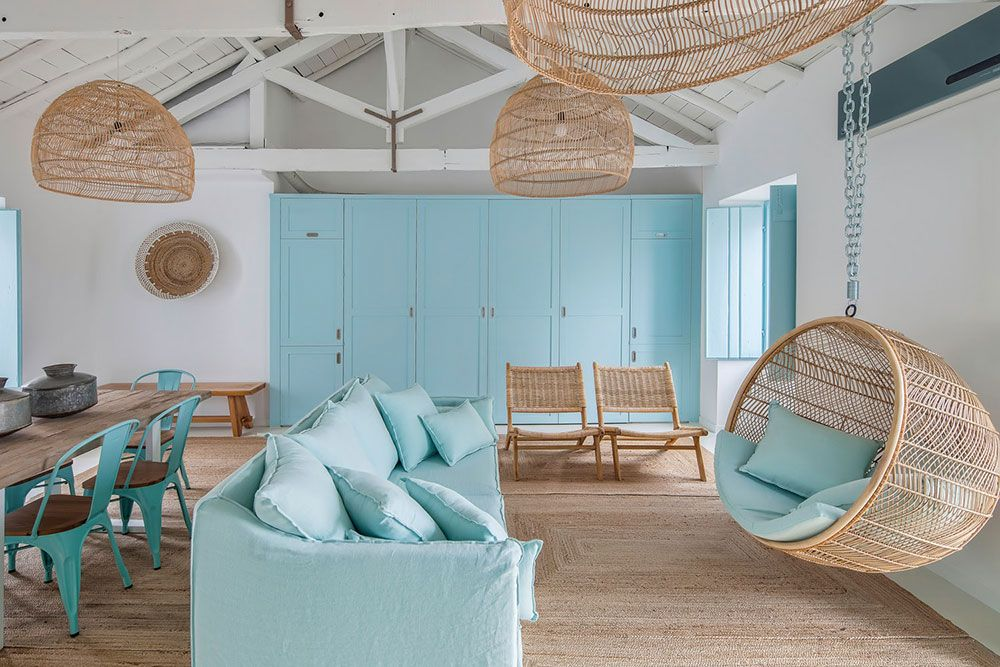 Blue Dream Portugal Home In Heavenly Colors Home Interior