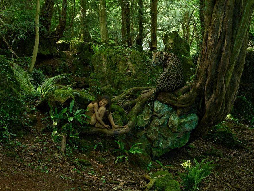 El chico leopardo, India, 1912 Tenía 2 años cuando se lo llevó una ...