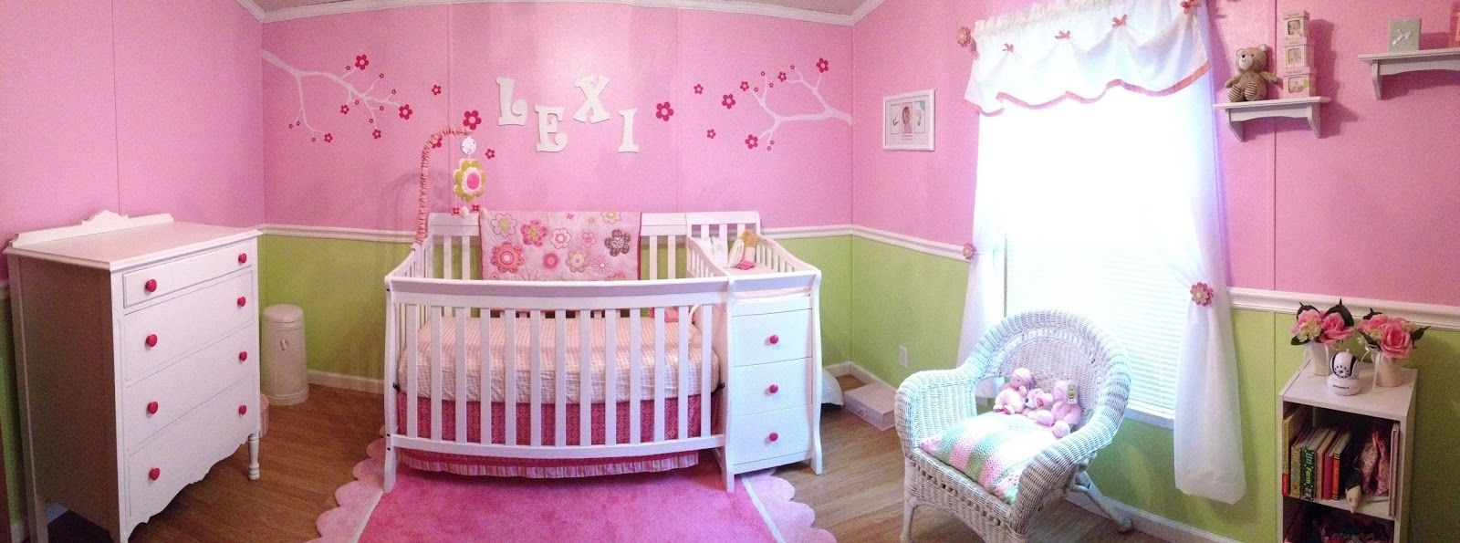 image result for green and pink nursery home pinterest baby rh pinterest com