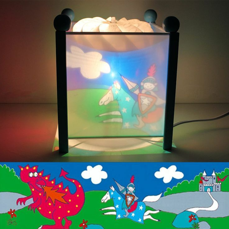 Trousselier Magic Lamps Gently Rotate When Switched On, Projecting Soothing  Images Onto The Lamp Box And Surrounding Walls. Designed To Rotate From The  Heat ...