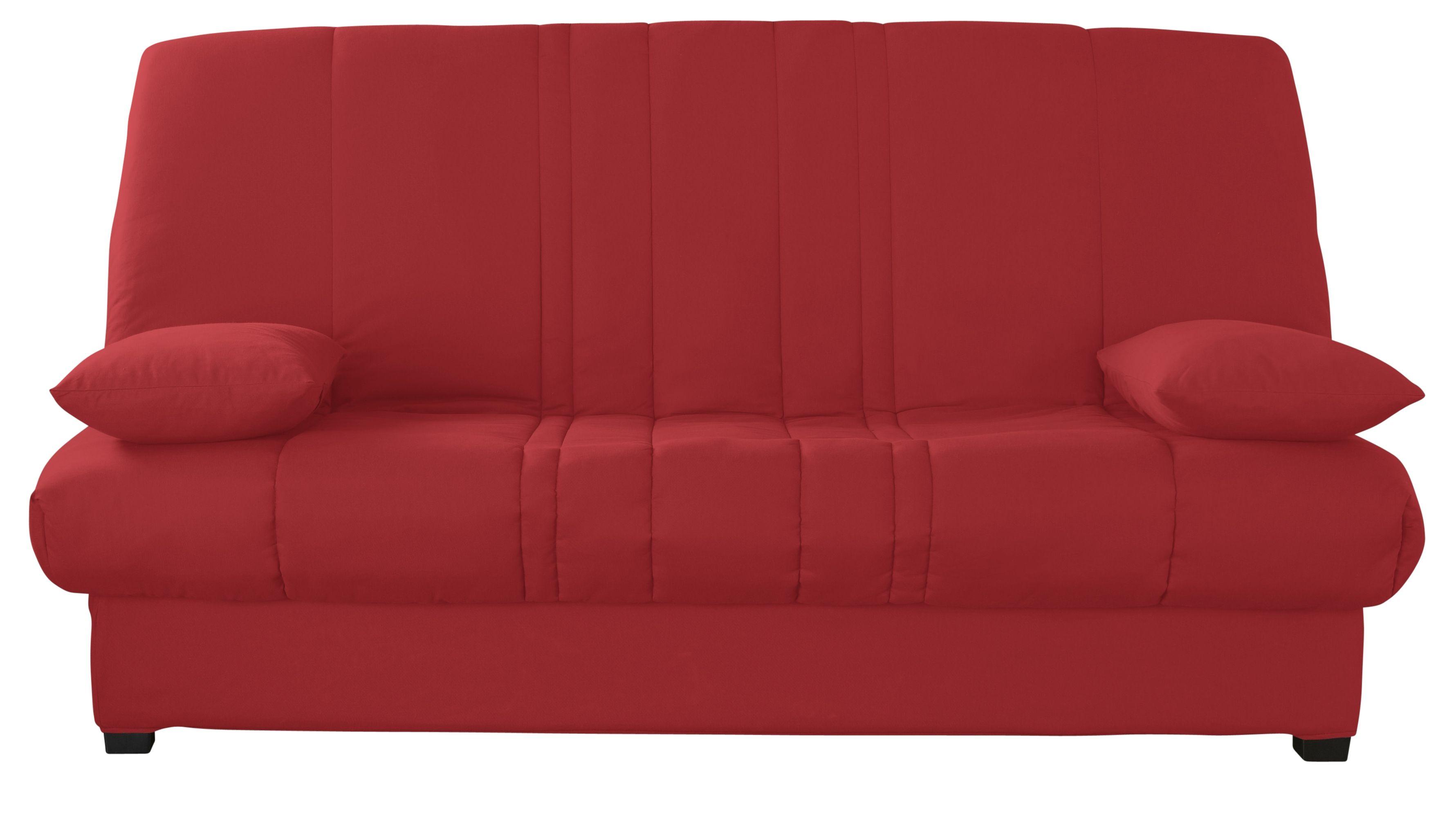Clic Clac Tissu Rouge Ludine En 2020 Matelas En Mousse Tissu Rouge Matelas
