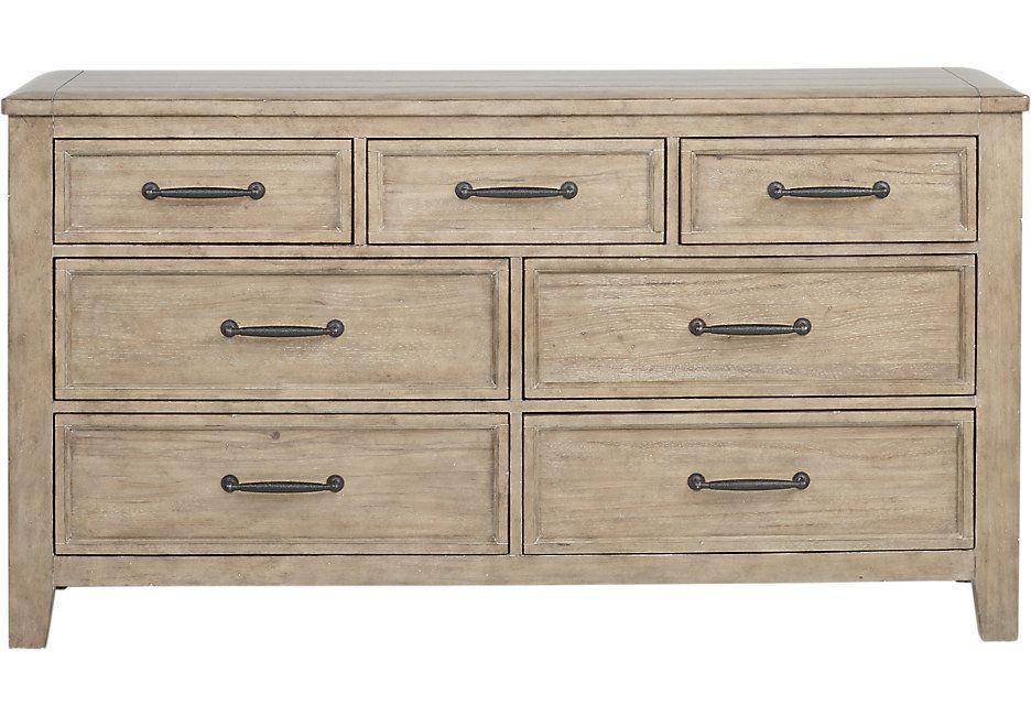 Alpine Lake Washed Oak Dresser 599 99 68w X 18d X 37h Find