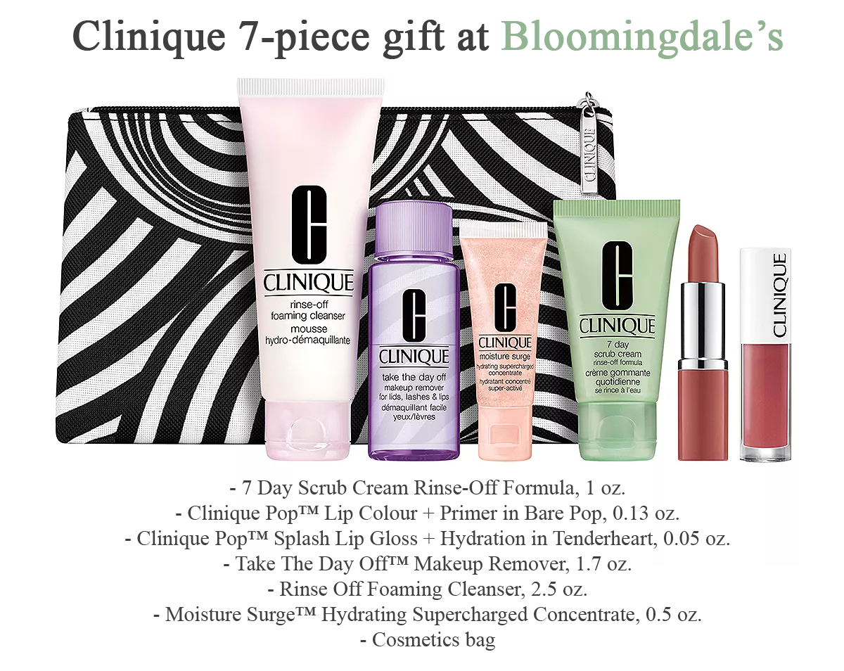 Spend 31+ to get Clinique Bonuses September 2020 in