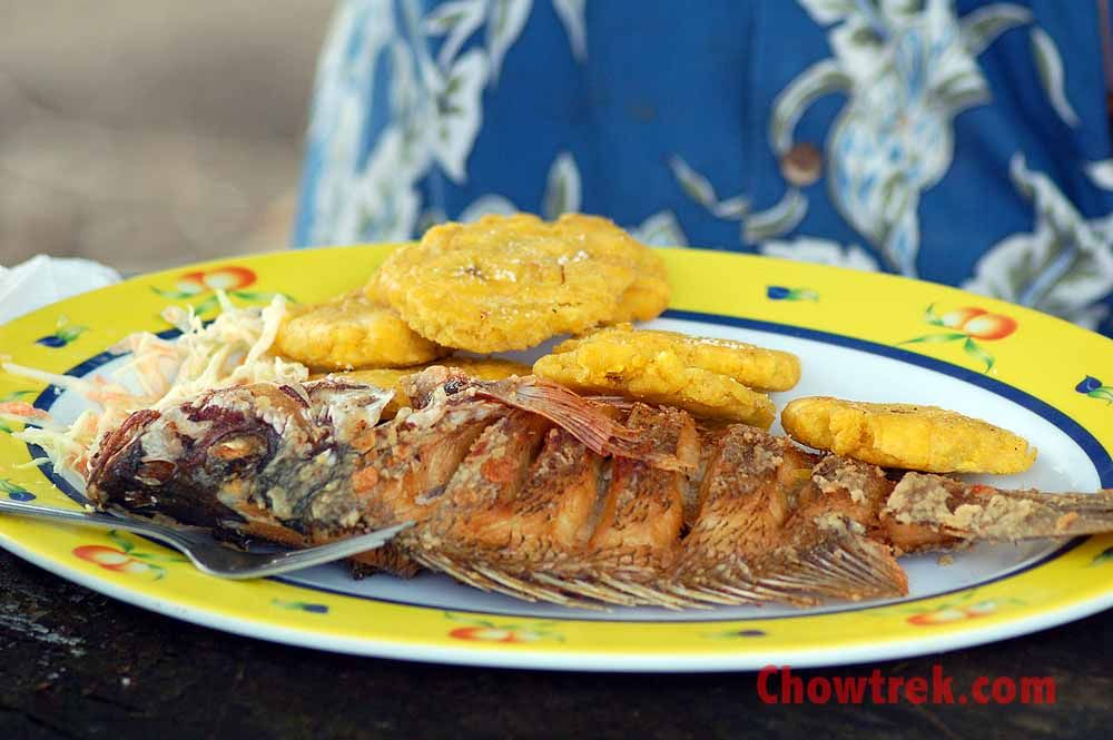 Panama foods fish and patacones latin foodvisit panama panama foods fish and patacones forumfinder Image collections
