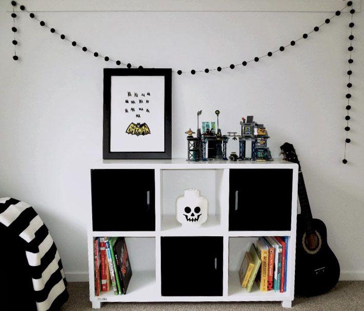 Pin de milena costa em decoração Pinterest Quartos e  ~ Quarto Preto E Branco Tumblr