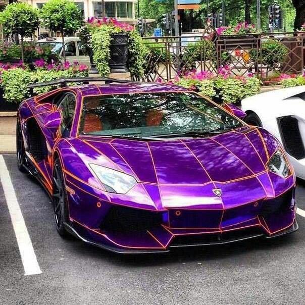 Purple magic *
