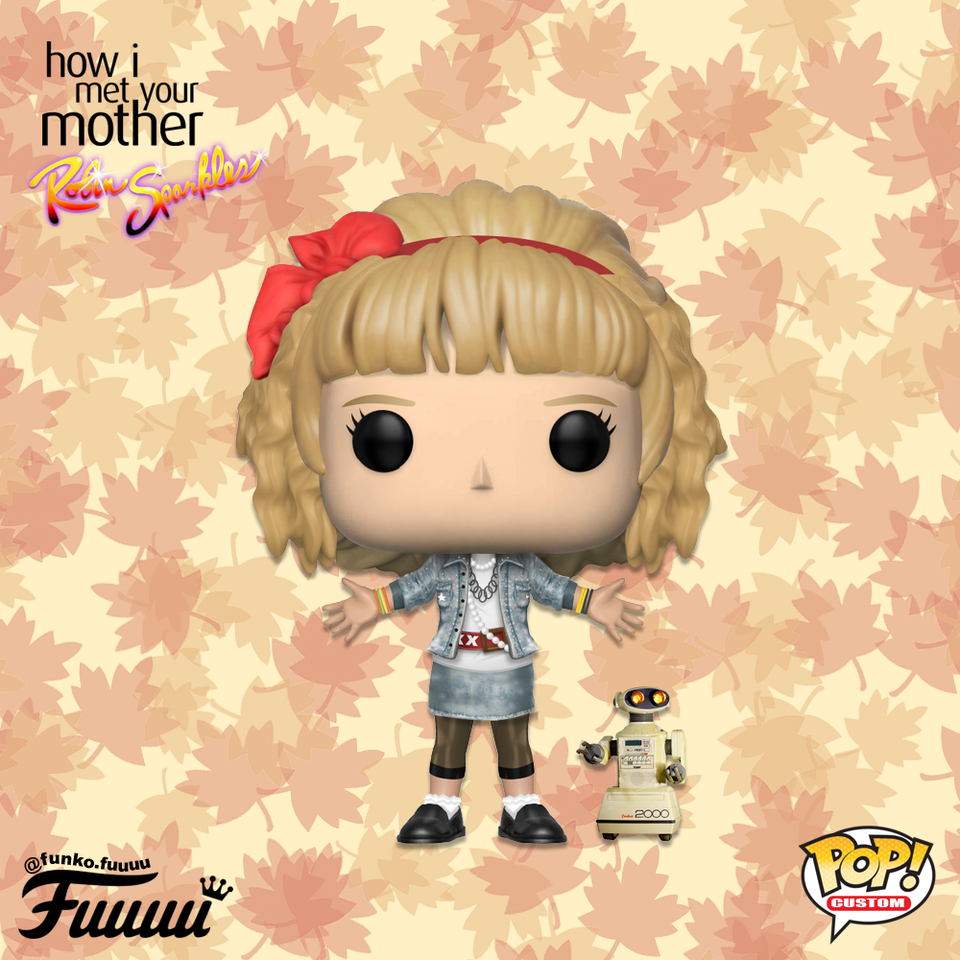 Let S Go To The Mall Today Robin Sparkles Concept Art Funkopop How Met Your Mother How I Met Your Mother Funko Pop Dolls