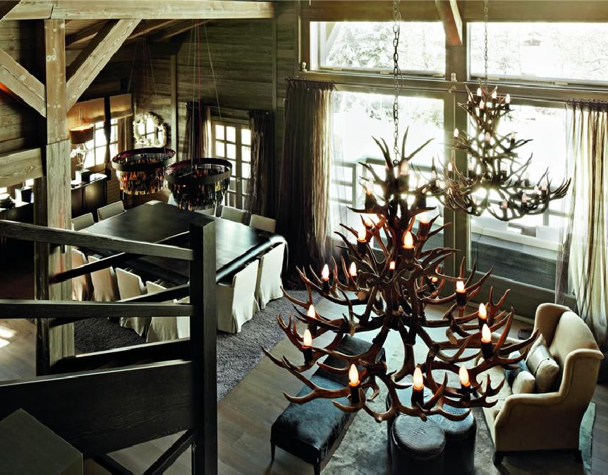 Antler chandelier i heart you daily imprint design