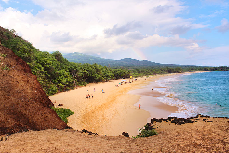 Makena Beach State Park Is Composed Of The Big Beach And