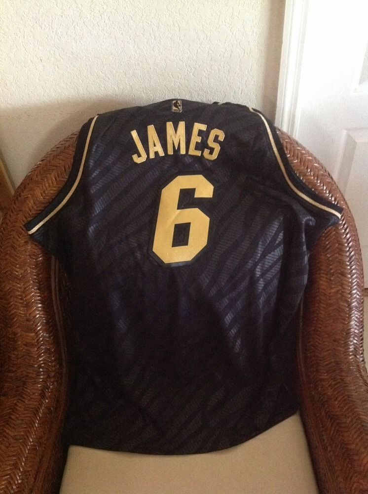 Lebron James Miami Heat  6 Adidas limited edition NBA Jersey NW Size 2XL  Mens in Sports Mem 5e6b7af25