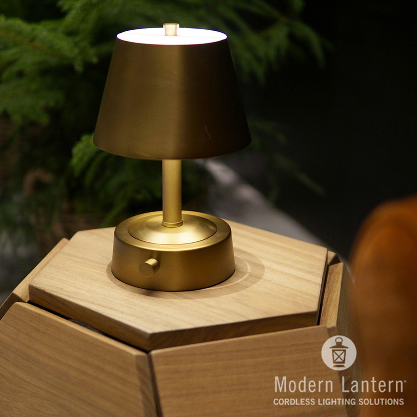 Industry Partners Cordless Lamps Metal Lamp Shade Lamp