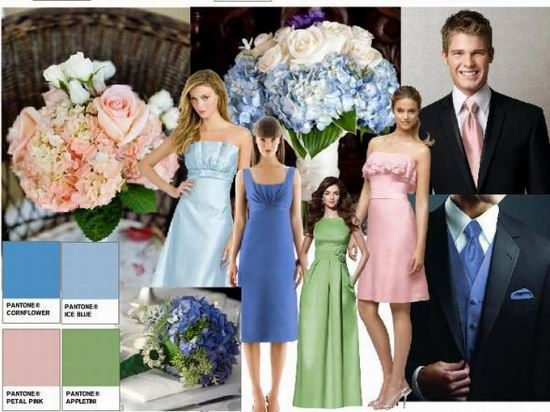 August summer wedding color ideas | Wedding Colors :) | Pinterest ...