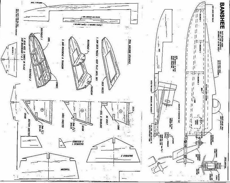 free rc boat plans in pdf format