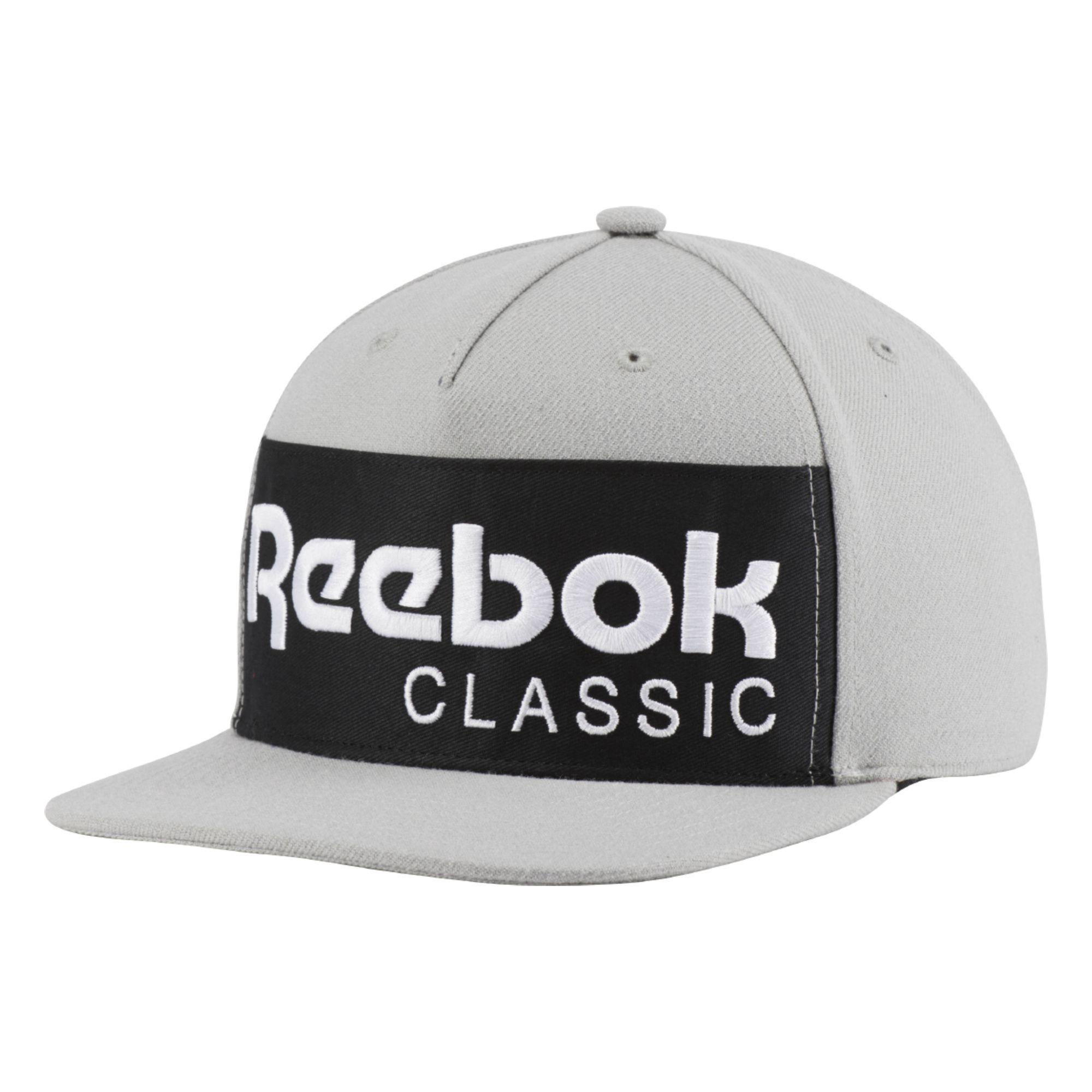 Reebok Classics Foundation Hat - Mgh Solid Grey   Black M-58 22869a285ef