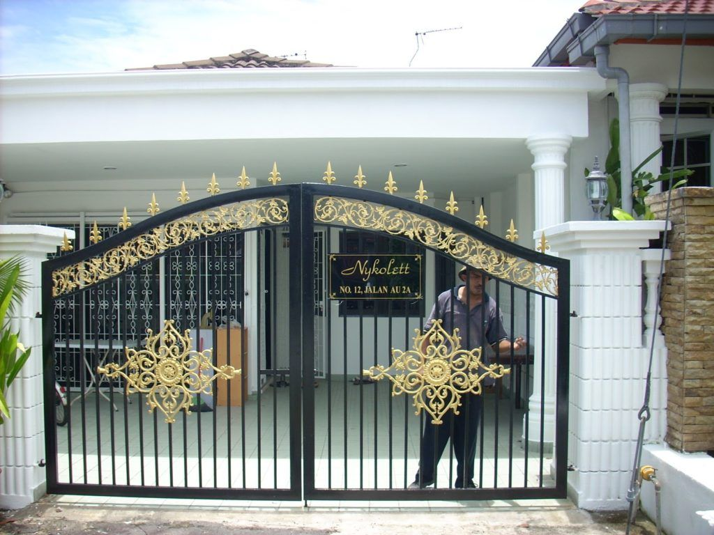 Home Gate Design Peenmedia Best Home Gates Designs   Front ...