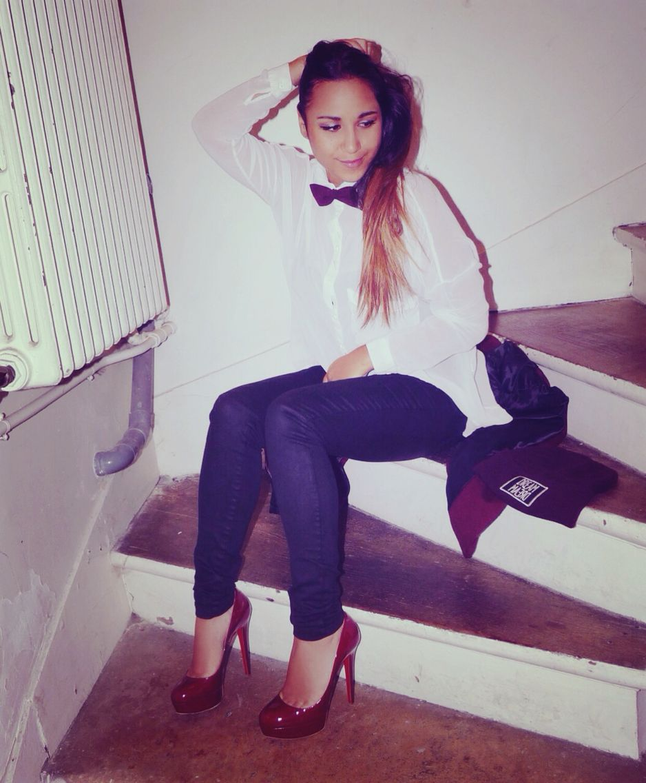 #louboutin#bianca noeud papillon/bow tie