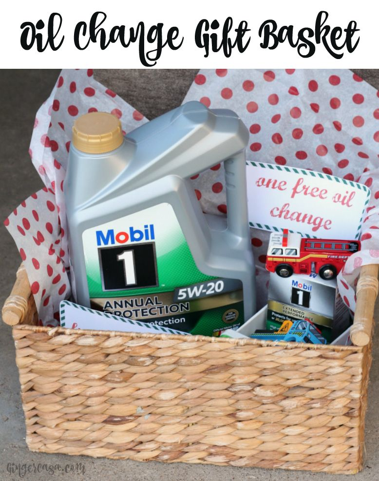 Single mom gift basket