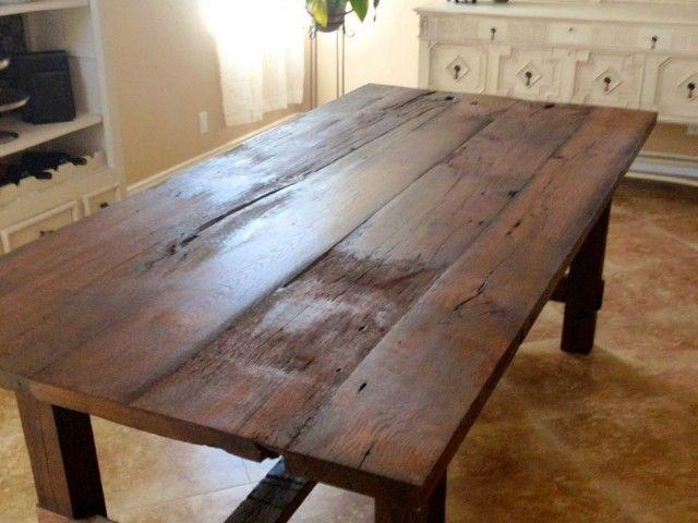 Reclaimed White Oak Farmhouse Table Oak Farmhouse Table Farmhouse Table Table