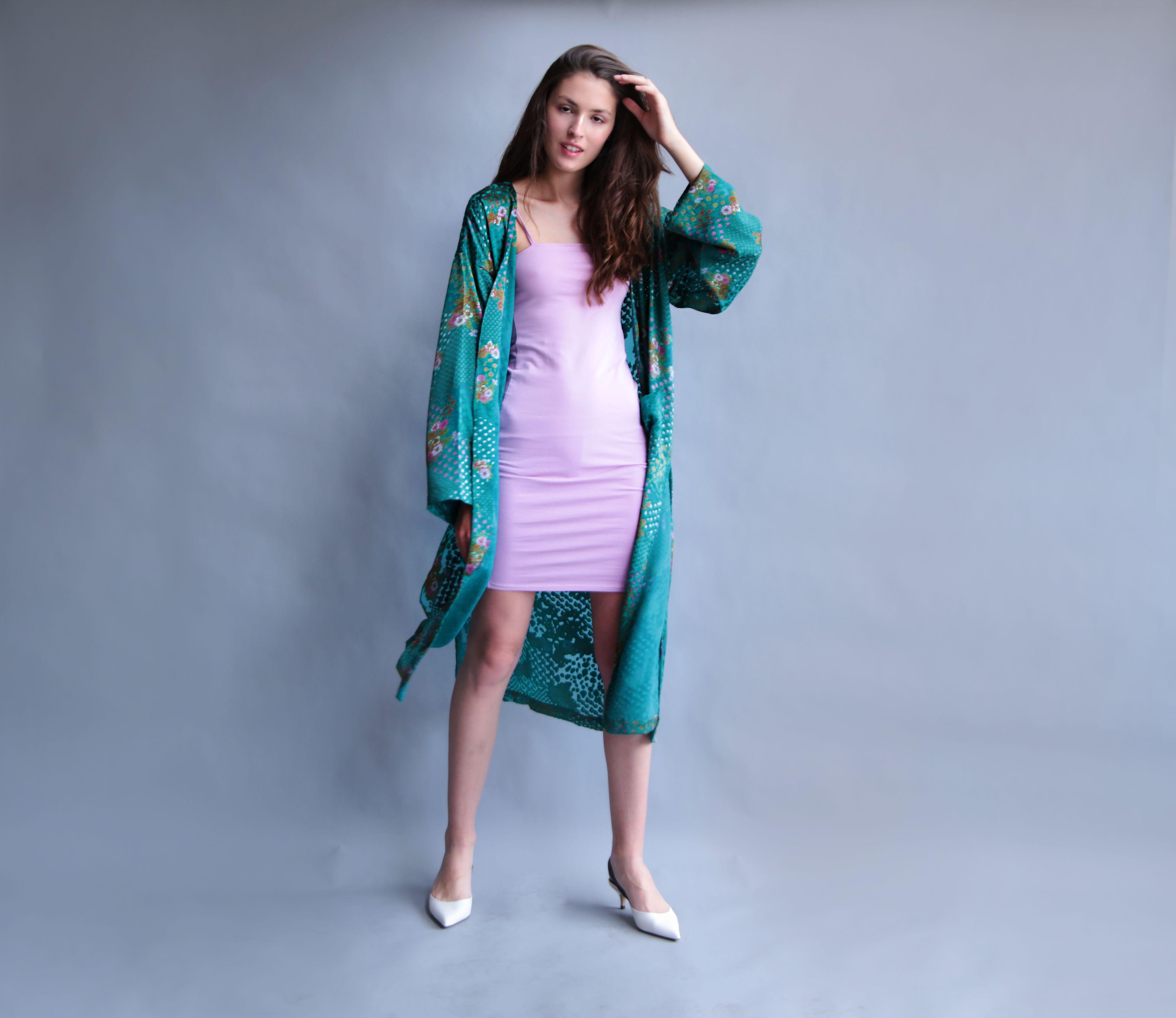 Vestido largo turquesa zapatos