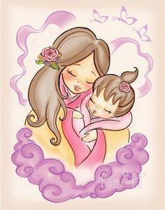 Un bono Bebé Mamá Para Siempre Amor Vinilo en las casa de bricolaje de regalo de Día de las Madres