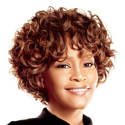 Whitney Houston S Changing Looks Whitney Houston Curly Hair Styles Curly Bob Hairstyles