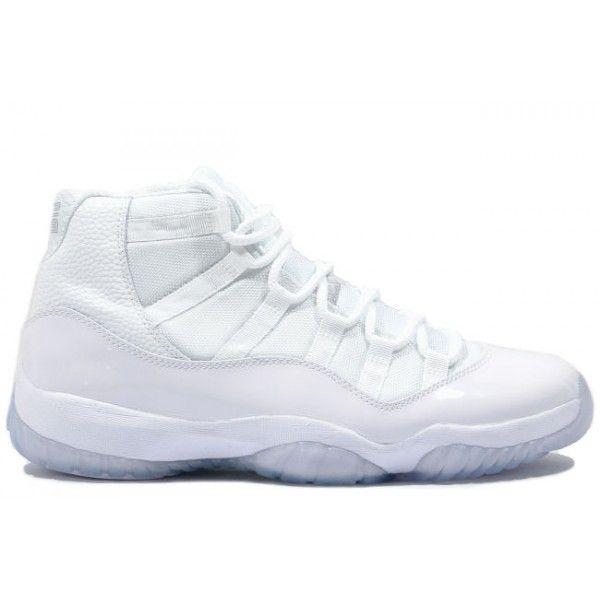 408201 101 Nike Air Jordan 11 Retro all white- 25th Anniversary http://