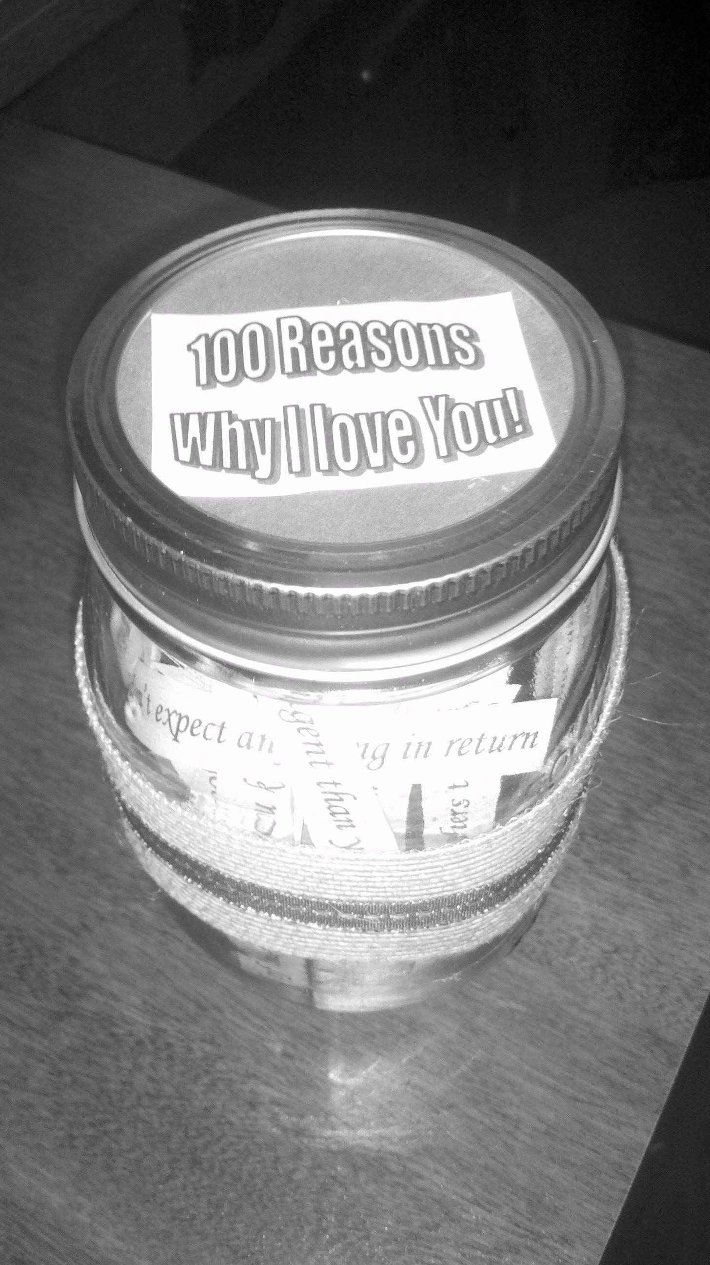 100 reasons why 'I love you'