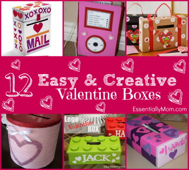 Easy & Creative Valentine Boxes for School   Creative, School and Box