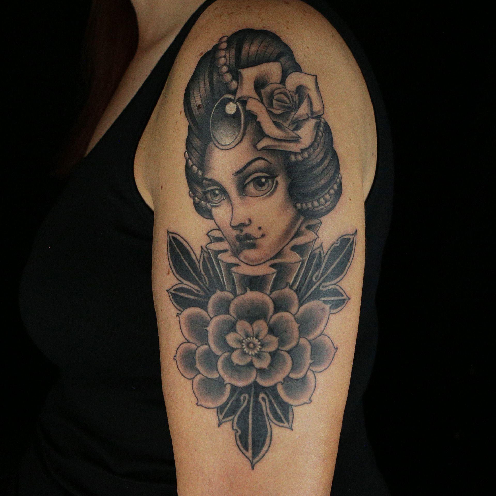 Tattoo by Tim Furlow Artists' Choice Tattoos (Ink Master