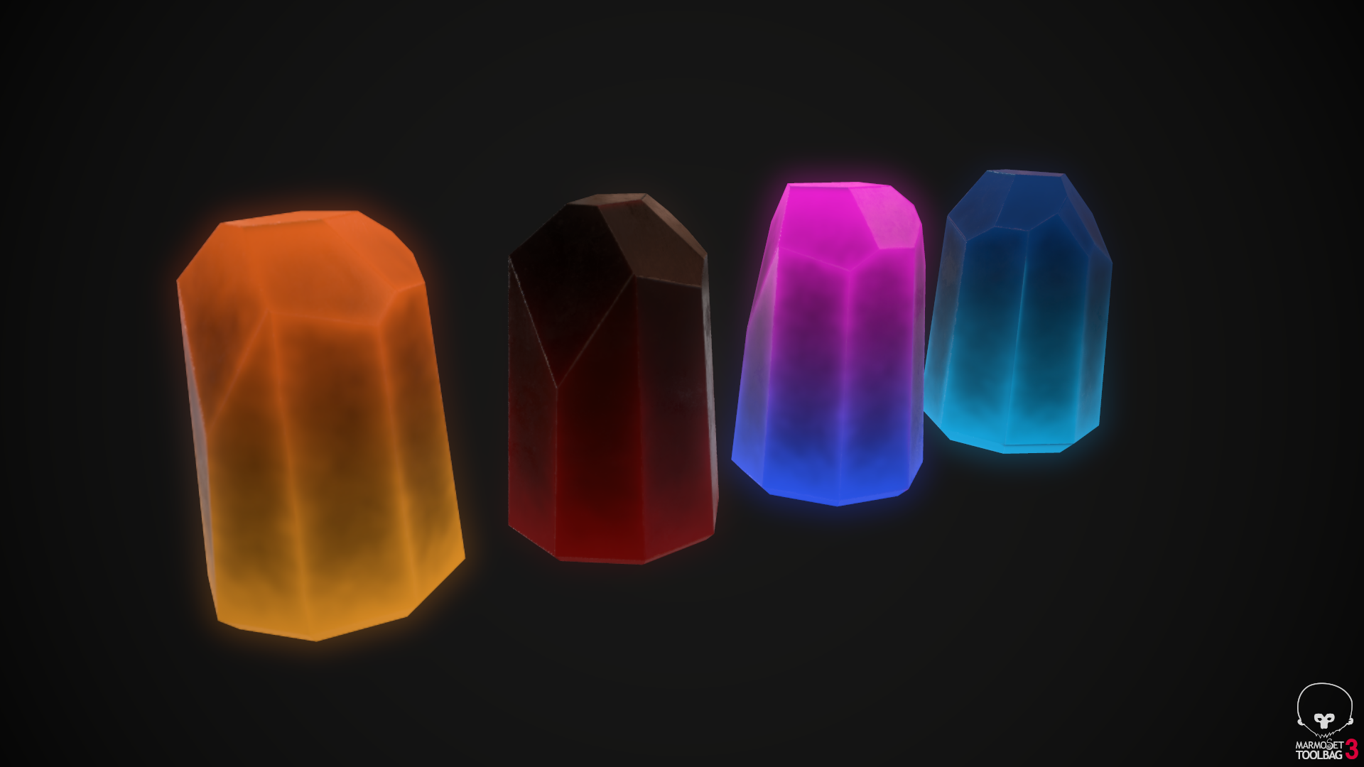 Stylized Energy Crystal Smart Material Tutorial Substance Painter Smart Material Bundle Energy Crystals Zbrush Stylized