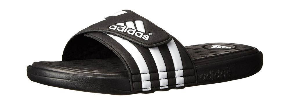 2629cc2e169 adidas Men s Adissage SC Slide Sandal Black White Black 9 M US  fashion   clothing  shoes  accessories  mensshoes  sandals (ebay link)