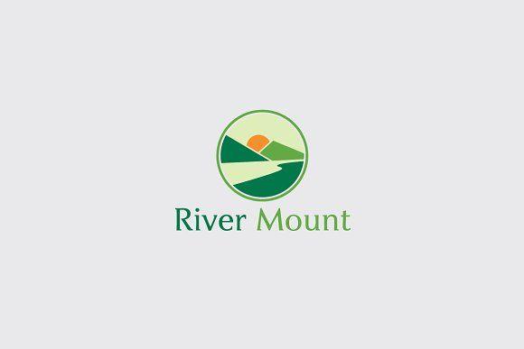 River Mount Natural Logo Modern Logo Font Names