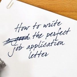 How To Write The Perfect Job Application Letter  Talented Ladies