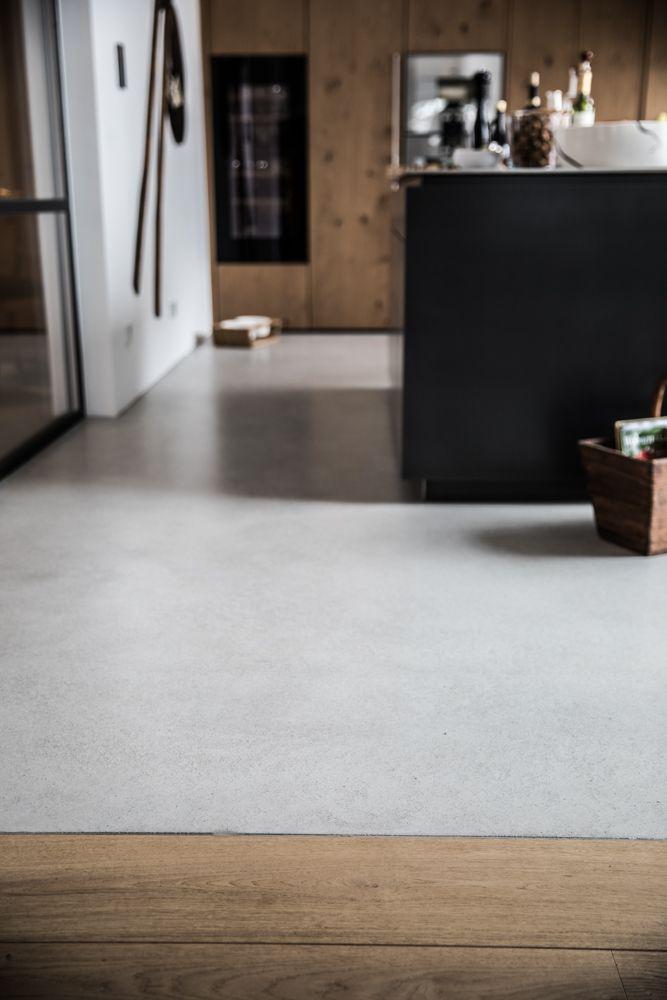 Küchen Boden küchenboden designboden sichtestrich beschichtungen küchen