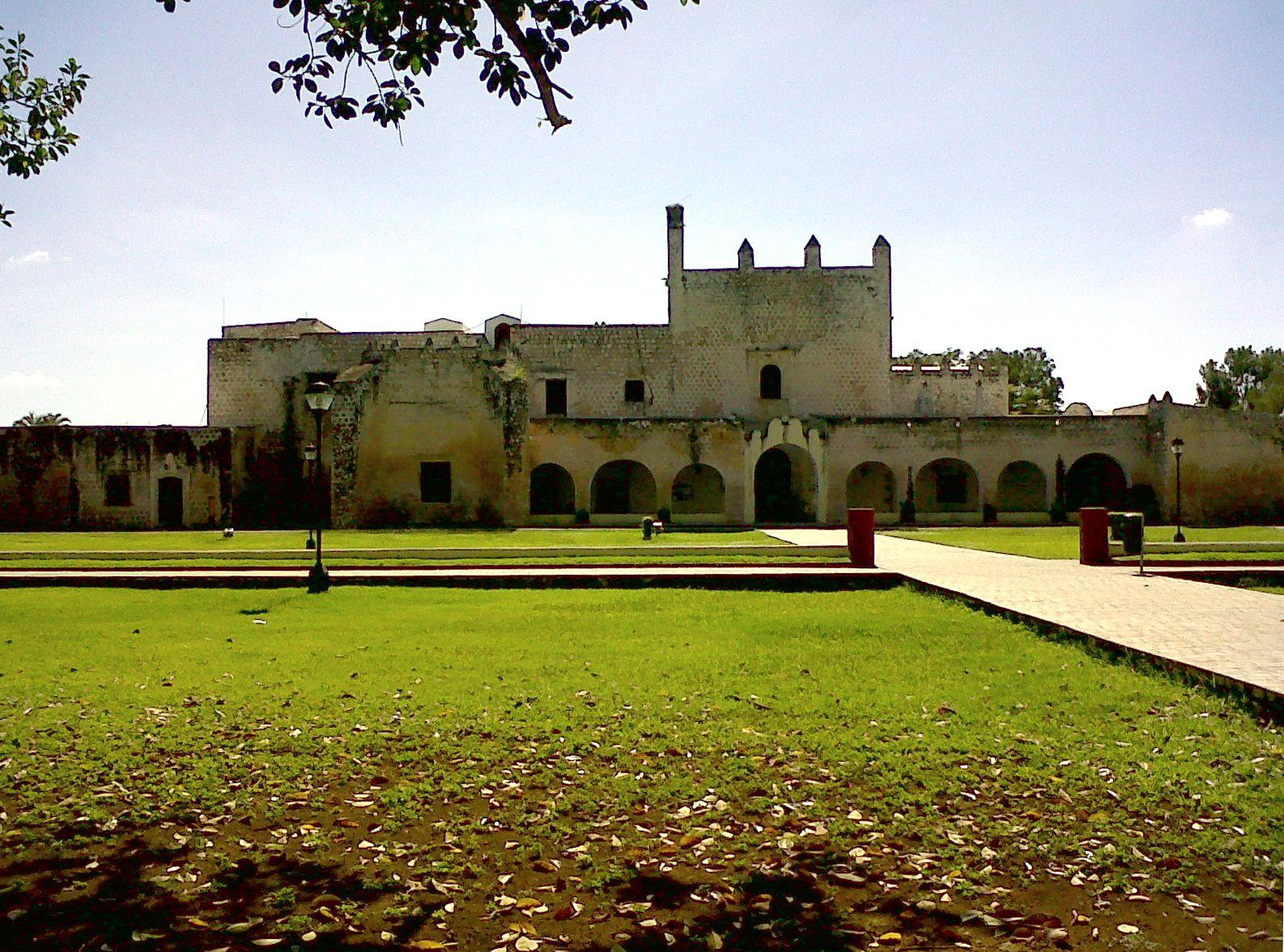Templo de San Bernardino, Valladolid, Yucatan, Mexico